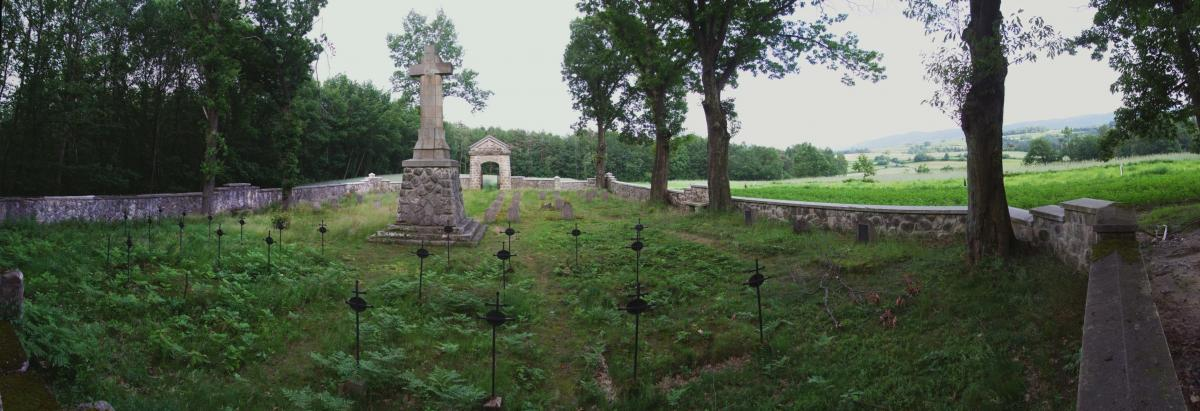 Wikipedia, Paprotna, Self-published work, World War I Cemetery nr 303 in Rajbrot