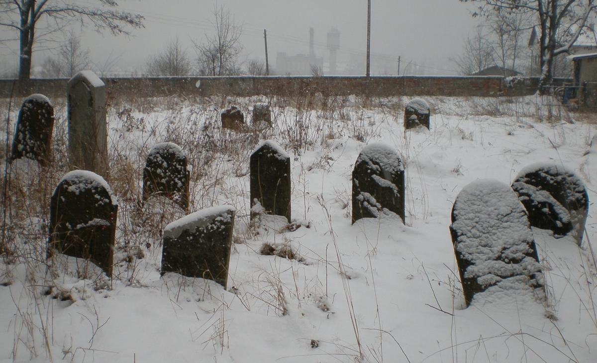 Wikipedia, Jewish cemetery in Andrychów, PD-self, Self-published work