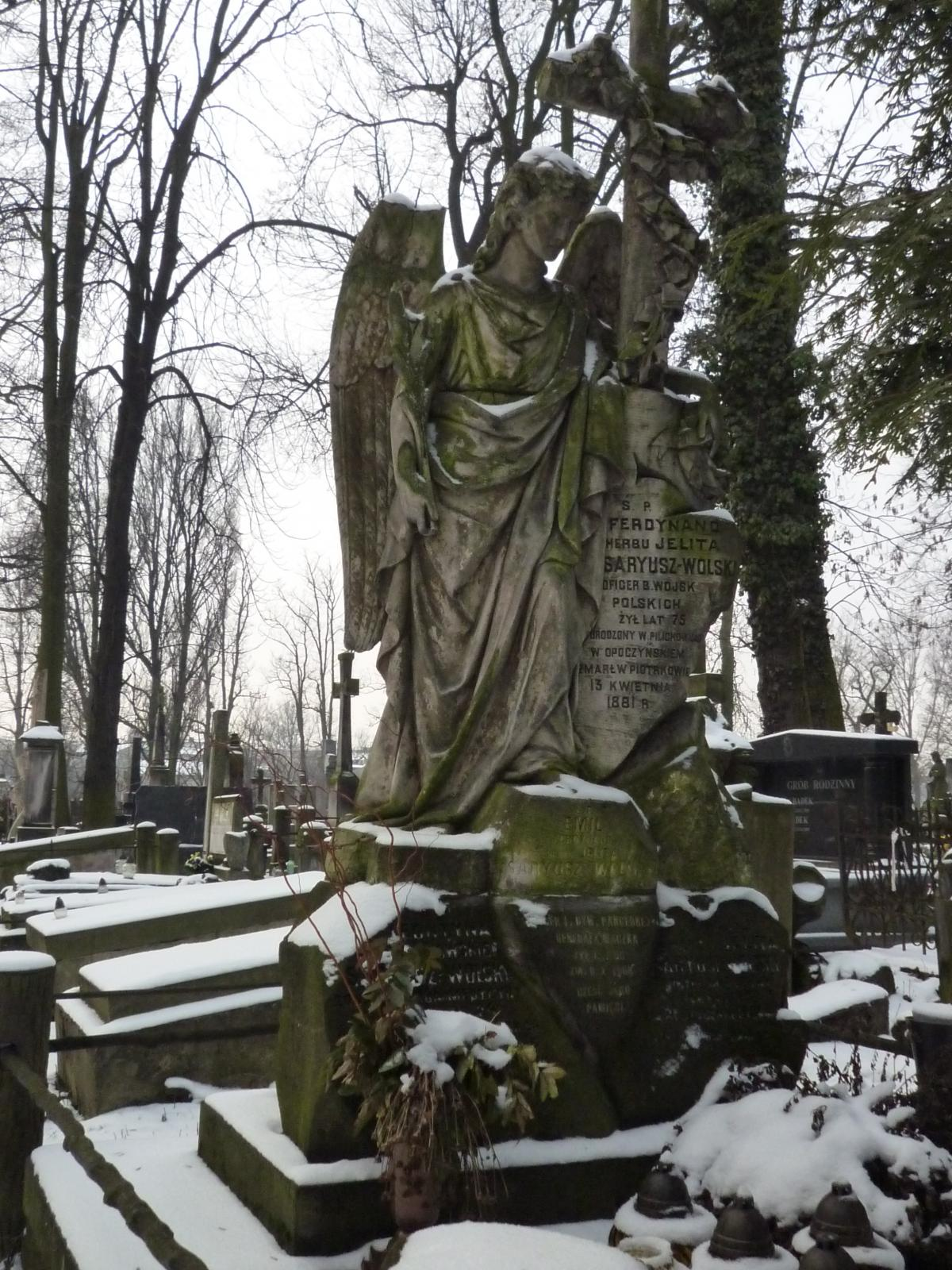 Wikipedia, Old Roman Catholic Cemetery in Piotrków Trybunalski, Self-published work, Uploaded via Ca