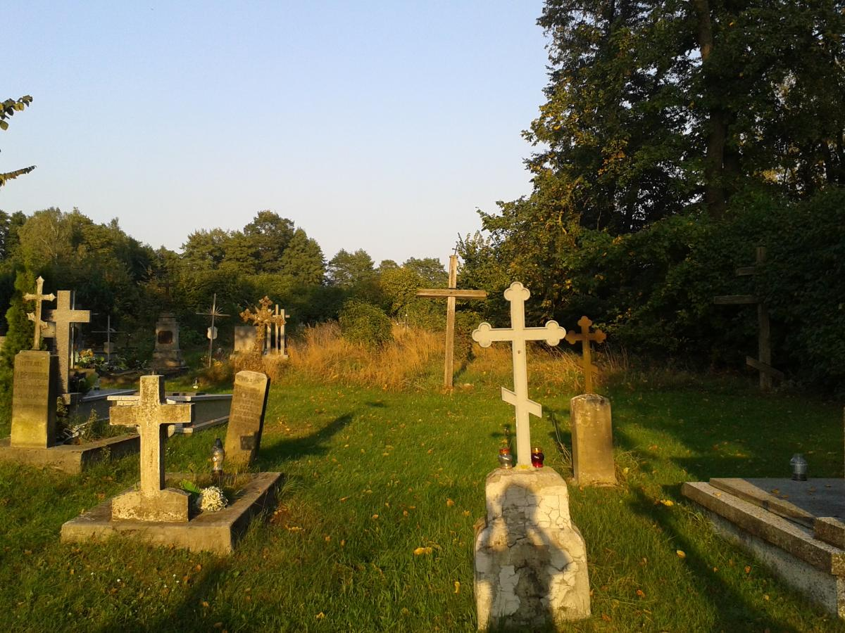 Wikipedia, Cemetery in Dobratycze, Self-published work, Wikigrant WG 2014-53